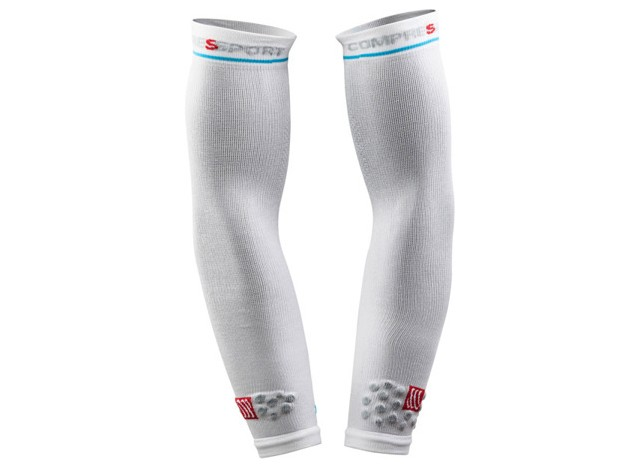 COMPRESSPORT Rękawki ARM FORCE White