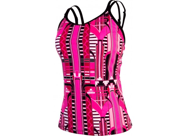 Empire Rose - Split Strap Tankini