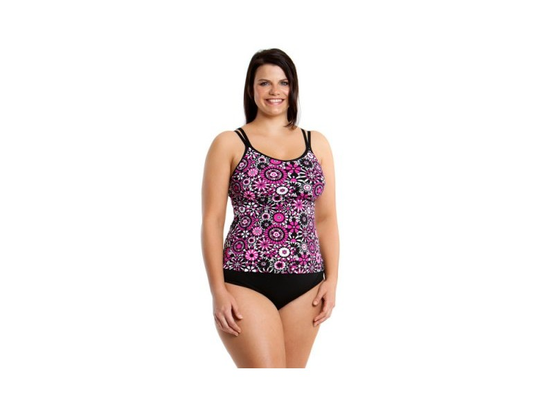 Petals of Paris - Split Strap Tankini