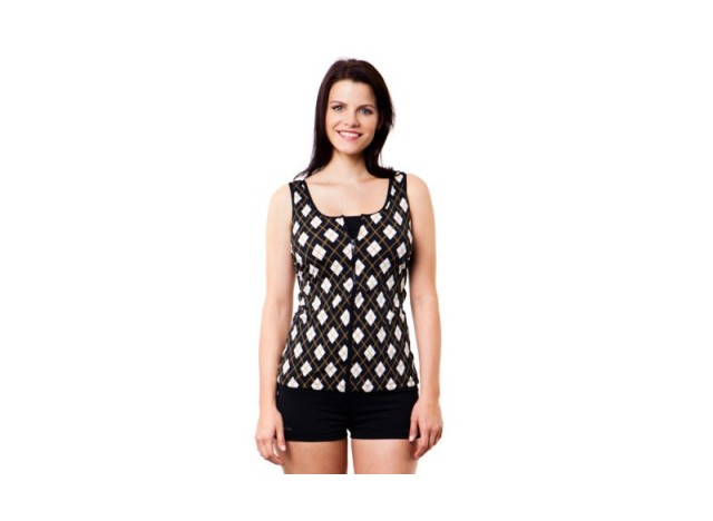 Royal Ascot - Zip Front Tankini