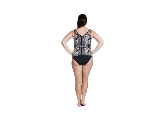 Empire Night - Zip Front Tankini
