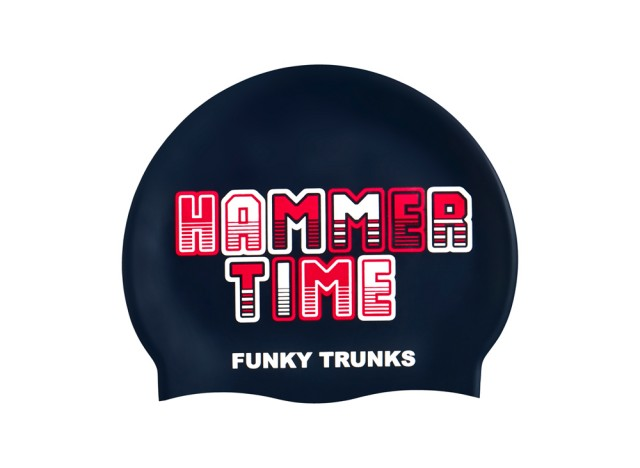Hammer Time - Swimming Cap