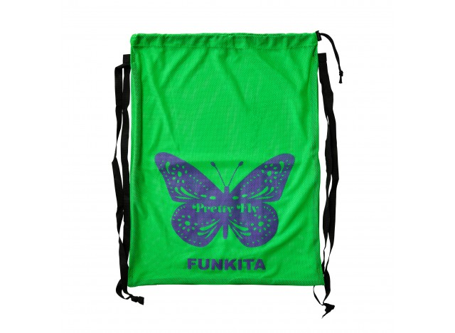 FUNKITA Printed Mesh Gear Bag - Pretty Fly