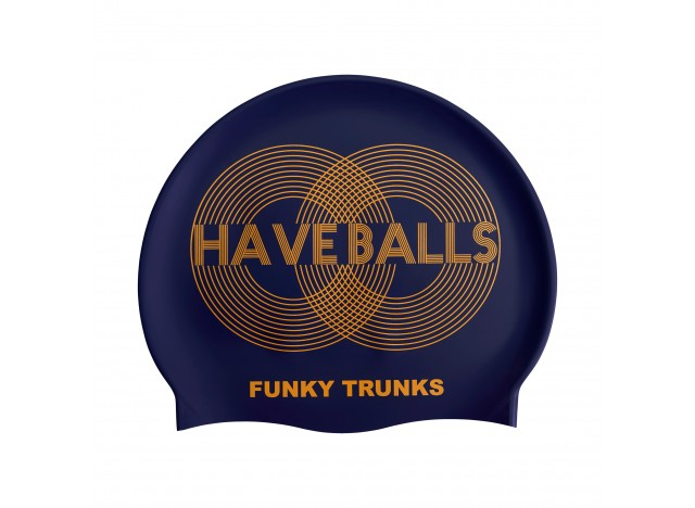 Golden Balls - Swimming Cap