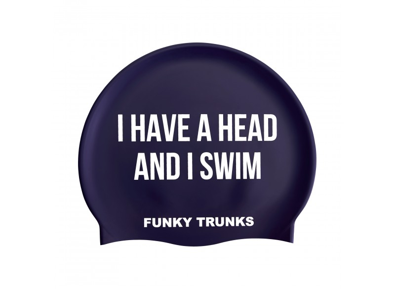 Get A Head - Swimming Cap