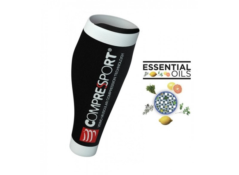 COMPRESSPORT Opaski Calf UR2 V2 BLACK