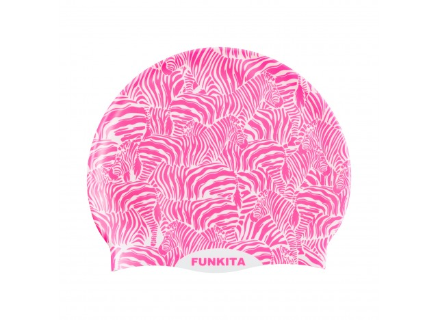 Painted Pink - Swimming Cap