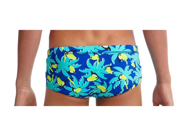 Bird Brain - Boys Eco Printed Trunk