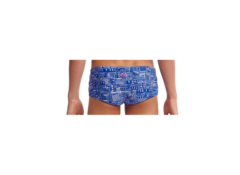 Sky City - Boys Printed Trunk