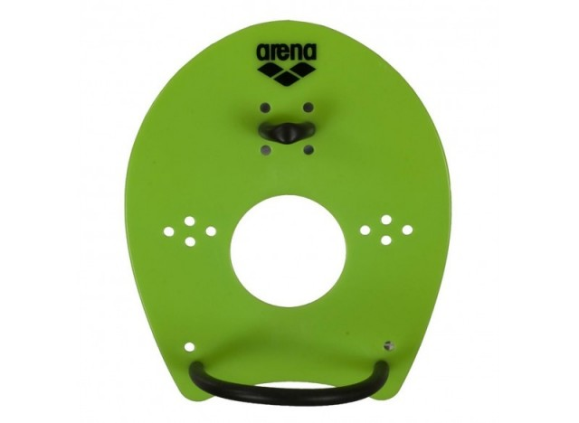ARENA Elite Hand Paddle - Acid Lime/Black