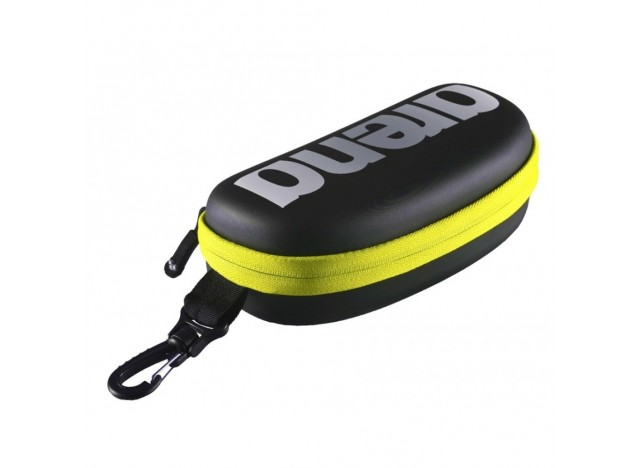 ARENA Goggle Case - Black/Silver/Fluo Yellow