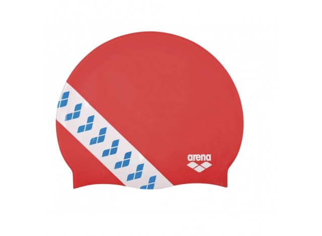 Czepek ARENA Team Stripe - Red