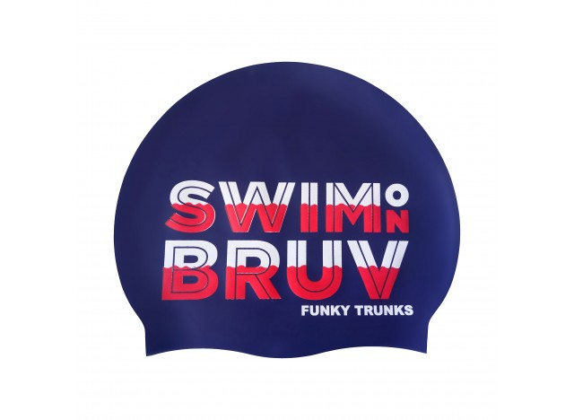 Swim on Bruv - Swimming Cap