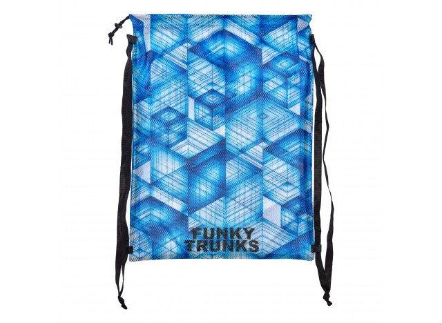FUNKY TRUNKS Printed Mesh Gear Bag - Galactica