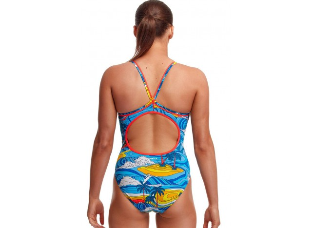 Beach Bum - Ladies Eco Diamond Back