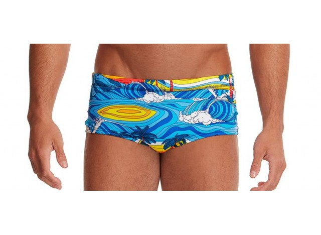 Beach Bum - Men's Eco Plain Front Trunk