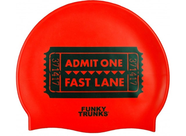 Fast Lane - Swimming Cap