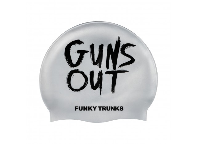 Gun's Out - Swimming Cap