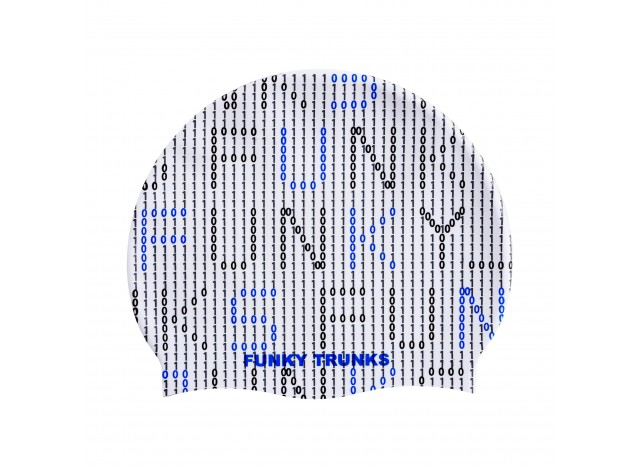 Binary Bro - Swimming Cap