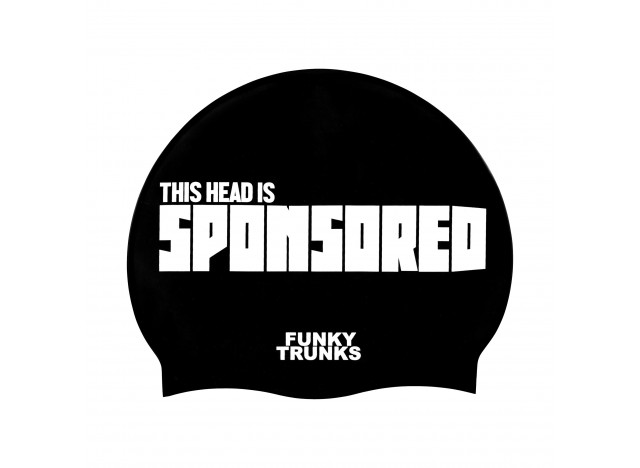 Sponsored Head - Swimming Cap